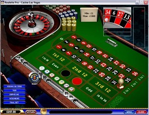 Which las vegas casinos have video roulette