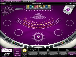 Jackpot City BlackJack